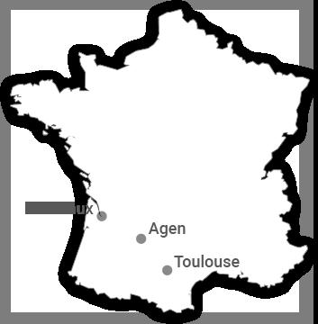 Carte Tourisme-condom depuis France