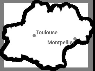 Carte Tourisme-condom depuis Occitanie